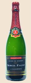 NV Champagne <br>Cuvée de Réserve Brut <br>Serge Faust