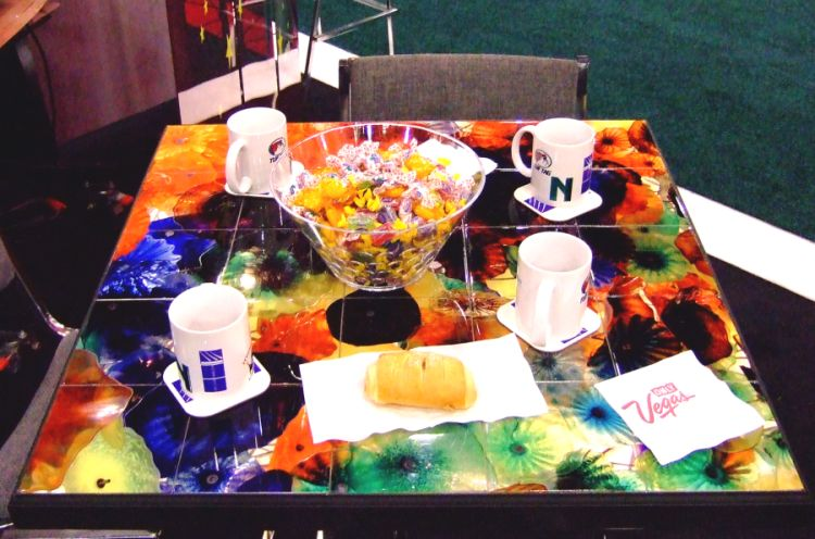 Sublimation Tile Tabletop and Mugs