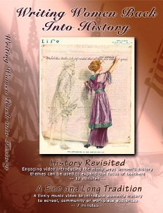 Writing Women Back into History --Special Program History Revisited - A Guide to Women's History DVD