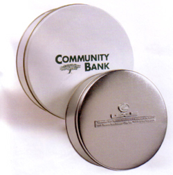 custom logo tins
