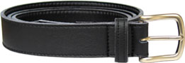City Belt by Vegetarian Shoes - Black