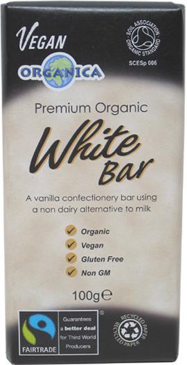White Chocolate Bar by Organica